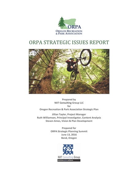ORPA Oregon Recreation and Park Association