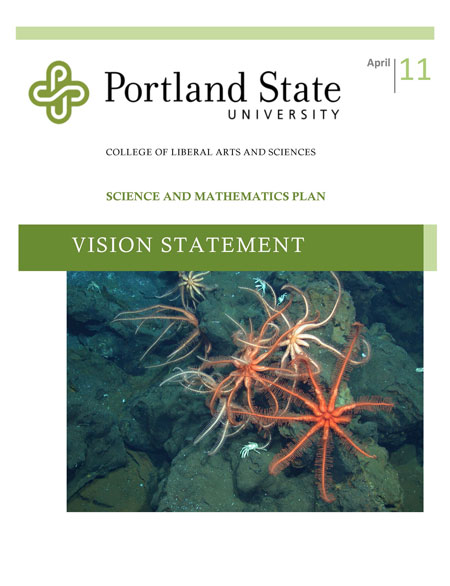 Portland State University Science and Math Vision higher education consulting
